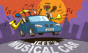 Jeff's Musical Car