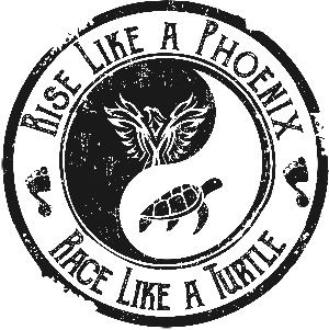 Kevin Bulmer | Rise Like a Phoenix, Race Like a Turtle Logo
