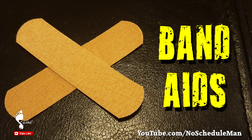 """Band Aids"" – Treating Symptoms Instead Of Causes"