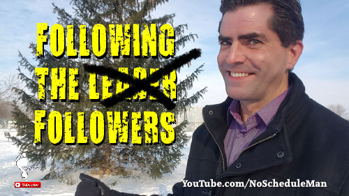 "Are ""Following the Leader"" or Following Followers 