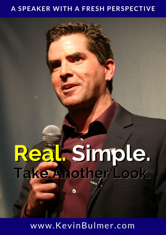Kevin Bulmer - Speaking Overview