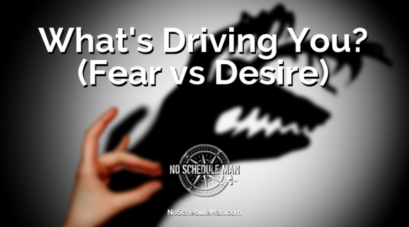 What's Driving You? (Fear vs. Desire)